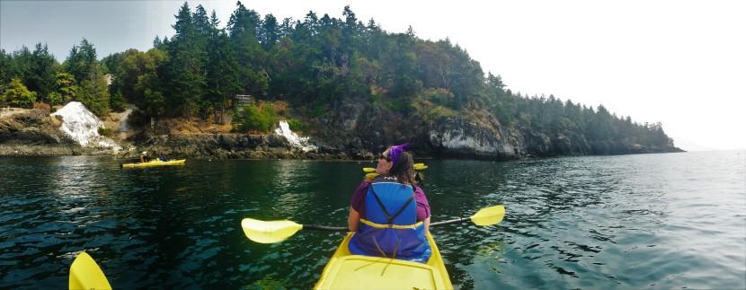Kayaking: Exploring the San JuanIslands