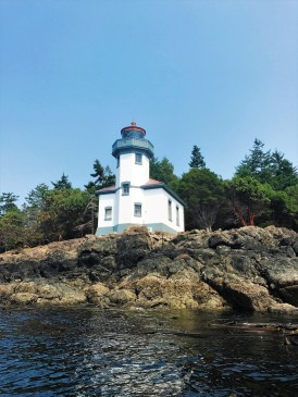 Lime Kiln Lighthouse at the State Park.