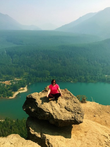 Lindsey finding her inner peace.