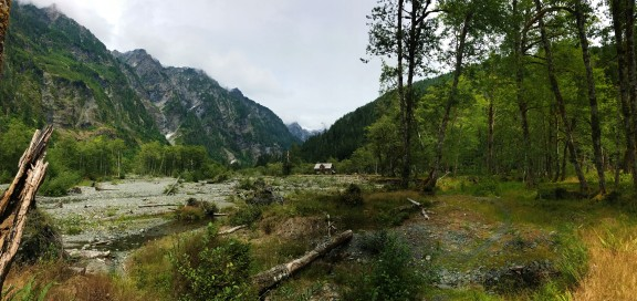 With waterfalls cascading down the mountains, the snow capped peaks, and winding river, the valley truly is enchanting.