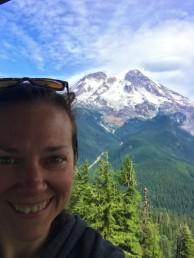 Mount Rainier Selfie