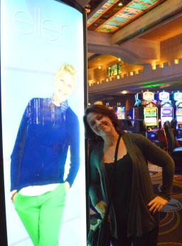 ellen degeneres slot machine