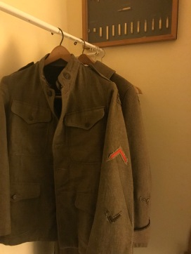 WWI memorabilia at the Grand Canyon Hotel