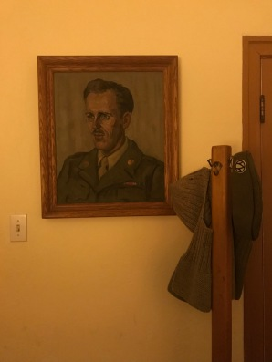 WWI soldier portrait at the Grand Canyon Hotel