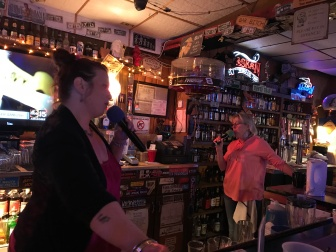 Singing bartenders in Williams, AZ