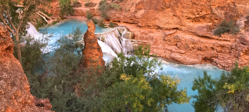 Waterfalls and Rescues: The Descent to Mooney Falls