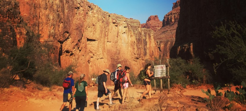 Leaving Supai: A Successful, Sweaty Solo Hike