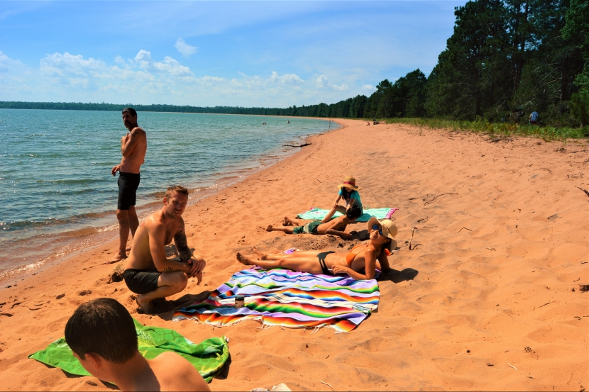 Lake Camping: Beach Days at Big Bay Town Park
