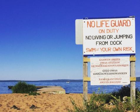 joni's beach sign