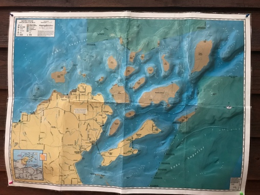 map of the apostle islands