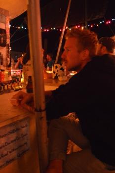 Zach at Tom's Burned Down Cafe