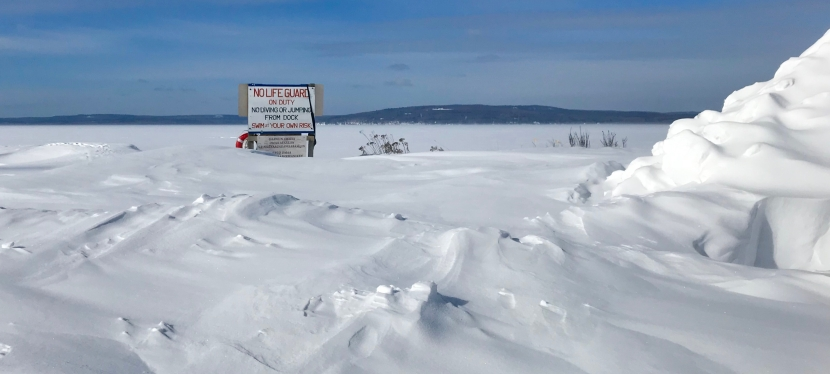 Walking (and Driving) on Water: Winter on Madeline Island